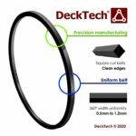 DeckTech, Kit de courroie d'entraînement en caoutchouc pour lecteurs de cassette 544. WM-FX453
