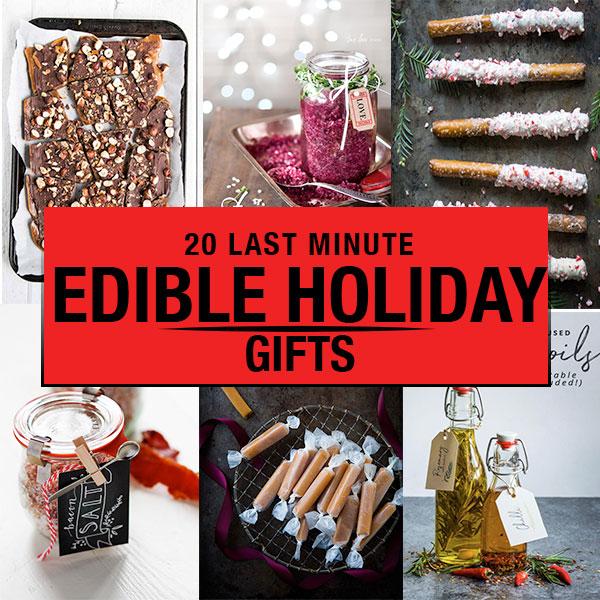 20 Last Minute DIY Edible Holiday Gifts Platings Amp Pairings