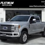 2018 Ford F 250 Super Duty Platinum Ultimate Every Option Stock 6309a For Sale Near Redondo Beach Ca Ca Ford Dealer