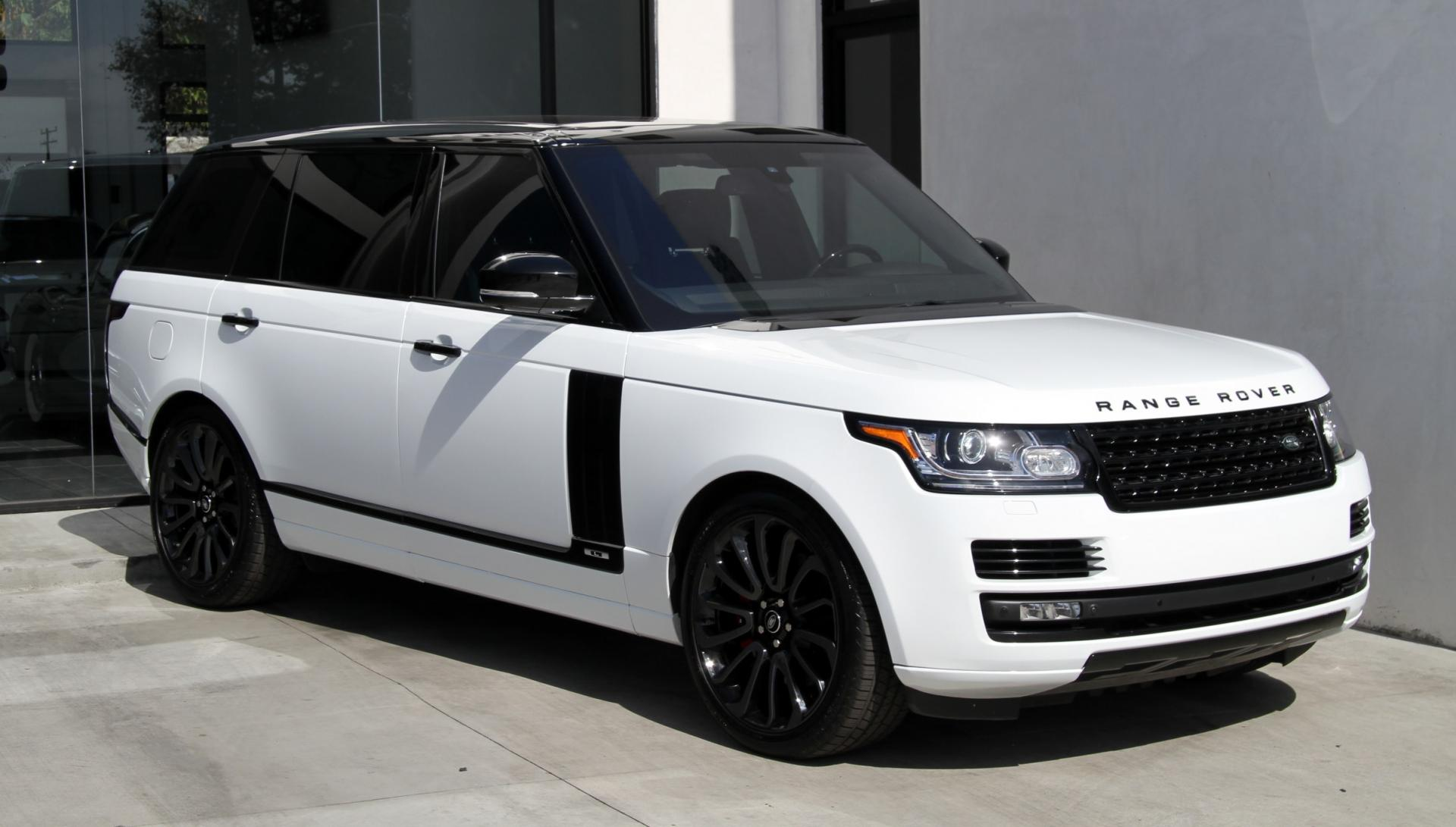 2015 Land Rover Range Rover Supercharged LONG WHEEL BASE