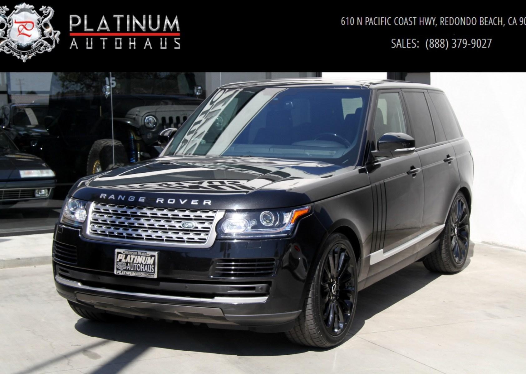 2015 Land Rover Range Rover HSE Stock 5972 for sale near Redondo