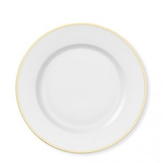 Image result for white with gold rim china