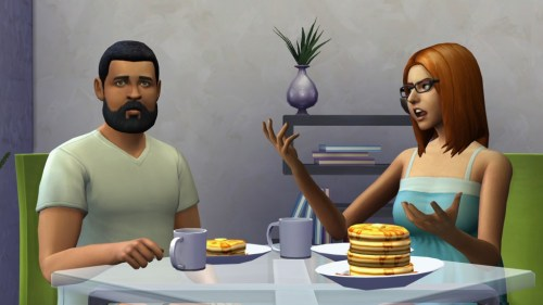 Shut up and get to the pancakes already! Let's make some pancakes... Bob Pancakes...