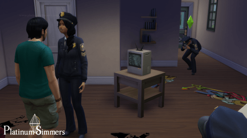 Detective career Sims 4