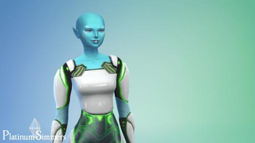 The Sims 4 alien create-a-sim
