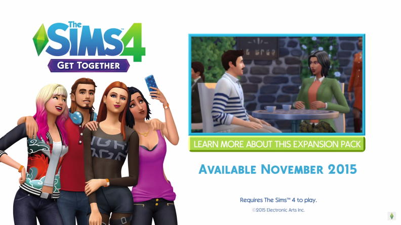 2015-08-05 10_34_02-The Sims 4 Get Together_ Official Announce Trailer - YouTube