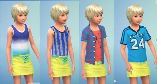 Backyard Child Outfits