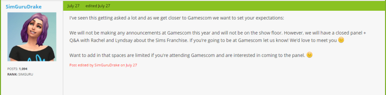 2016-08-05 09_45_54-Gamescom 2016 - Page 4 — The Sims Forums