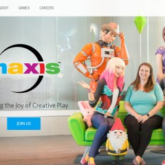 New look for the Maxis website!