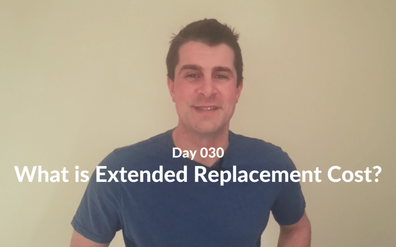 What is Extended Replacement Cost?
