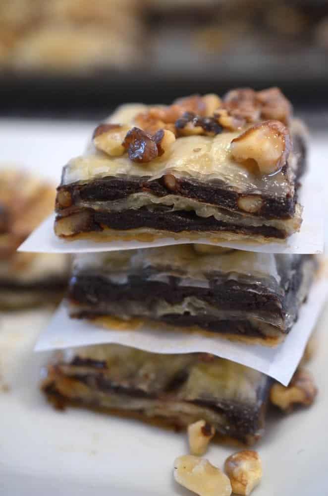 Brownie Baklava