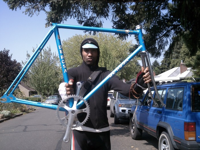 Rescued in Portland: A Stolen De Rosa Bicycle Has Been Found After 6 Years!