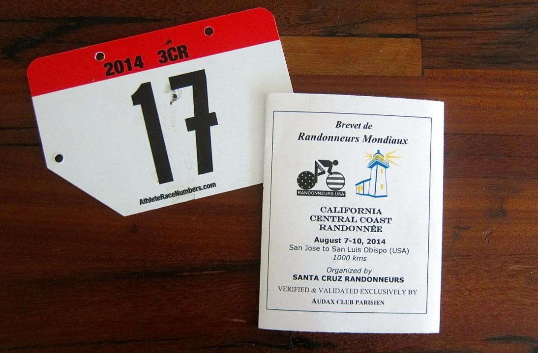Randonneur Ride Report: 3CR 1000k