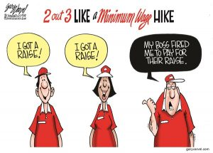 Fired to pay for their raise