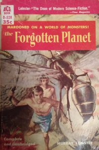 The Forgotten Planet by Murray Leinster Cover