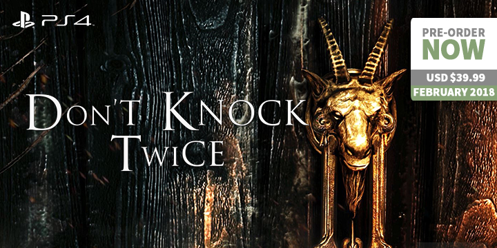 Play-Asia.com, Don't Knock Twice, Don't Knock Twice PlayStation 4, Don't Knock Twice PlayStation VR, Don't Knock Twice US, Don't Knock Twice gameplay, Don't Knock Twice release date, Don't Knock Twice price, Don't Knock Twice features
