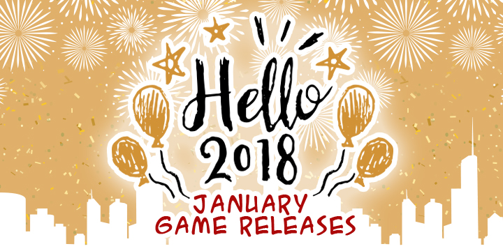 Happy New Year! As Excited As We Are Welcoming 2018, Hunters Are Finally  Able To Hang Out In The MH World. Here Is The List Of The Very Merry  January Game ...