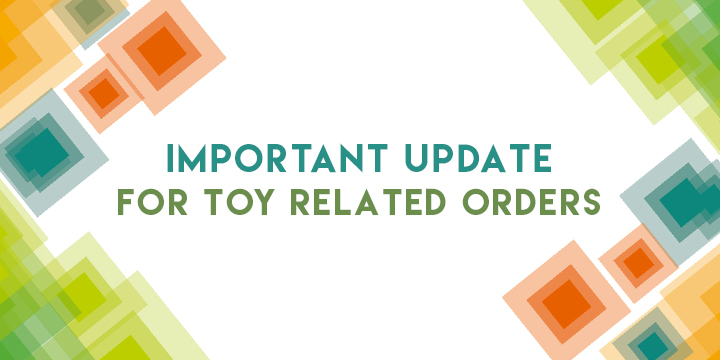 Toy shipping options update