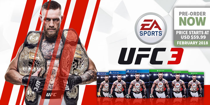 Be the G O A T in EA Sports UFC 3 - Playasia Blog