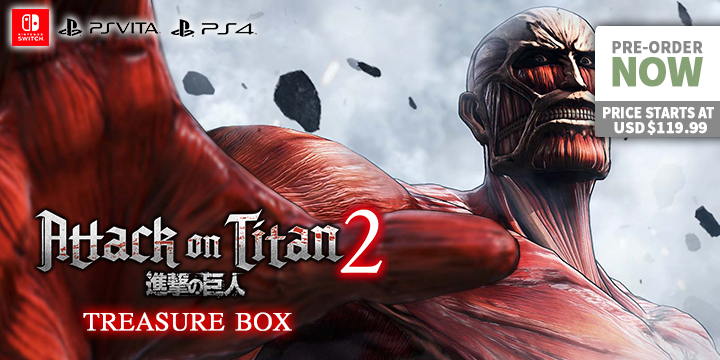 Defeat the Colossal Titans - Attack on Titan 2 - Playasia Blog