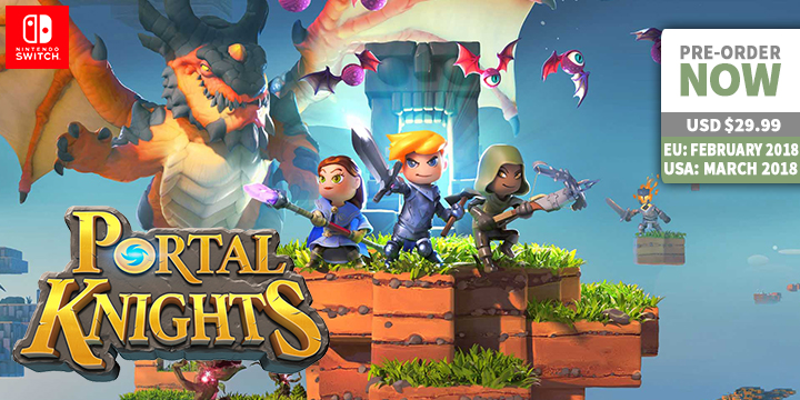 """The good thing with Portal Knights being offered in Nintendo Switch is the fact that you can play the game either by yourself or with somebody else with the use of split-screen co-op. Another option available is by playing it with up to 3 more players online. So obviously, the saying """"two heads are better than one"""" will go a long way in seizing monsters."""