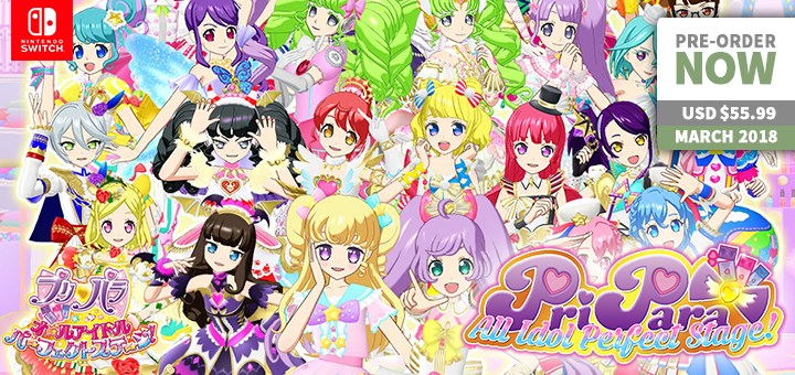 play-asia.com, PriPara: All Idol Perfect Stage, nintendo switch, release date, price, gameplay, features
