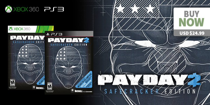 Play-Asia.com, Payday 2, Payday 2 Nintendo Switch, Payday 2 US, Payday 2 Europe, Payday 2 features, Payday 2 price, Payday 2 gameplay, Payday 2 release date