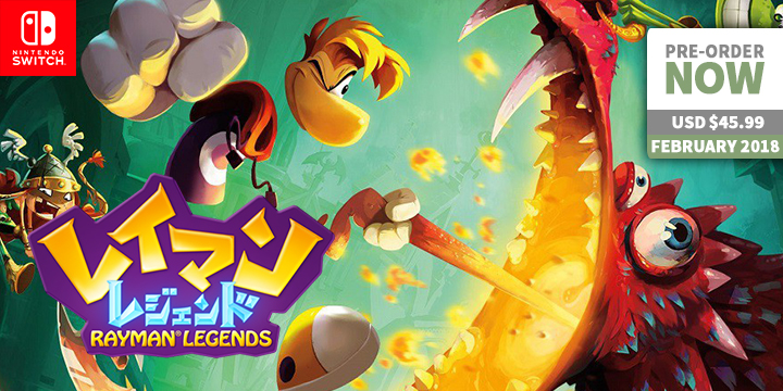 play-asia.com, Rayman Legends for Nintendo Switch, Rayman Legends for Nintendo Switch, Rayman Legends for Nintendo Switch JAPAN, Rayman Legends for Nintendo Switch release date, Rayman Legends for Nintendo Switch price, Rayman Legends for Nintendo Switch gameplay, Rayman Legends for Nintendo Switch features