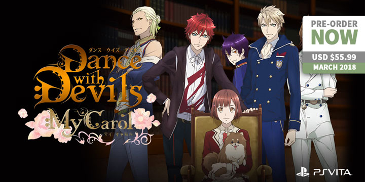 play-asia.com, Dance with Devils My Carol, Dance with Devils My Carol PlayStation Vita, Dance with Devils My Carol Japan, Dance with Devils My Carol release date, Dance with Devils My Carol price, Dance with Devils My Carol gameplay, Dance with Devils My Carol features