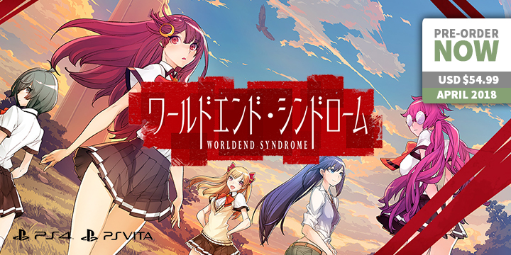 Play-Asia.com, World End Syndrome, World End Syndrome Japan, World End Syndrome PlayStation 4, World End Syndrome PlayStation Vita, World End Syndrome release date, World End Syndrome price, World End Syndrome features, World End Syndrome gameplay, ワールドエンド・シンドローム