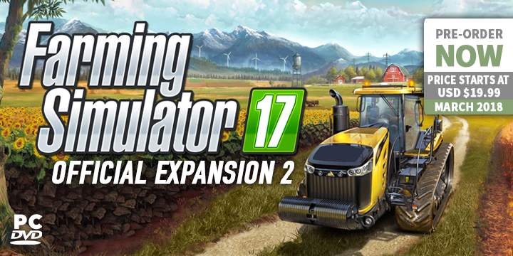 play-asia.com, Farming Simulator 17: Official Expansion 2, Farming Simulator 17: Official Expansion 2 Windows PC, Farming Simulator 17: Official Expansion 2 Europe, Farming Simulator 17: Official Expansion 2 release date, Farming Simulator 17: Official Expansion 2 price, Farming Simulator 17: Official Expansion 2 gameplay, Farming Simulator 17: Official Expansion 2 features
