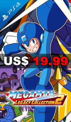 MEGA MAN LEGACY COLLECTION 2 - Capcom