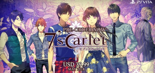 Play-Asia.com, 7'scarlet, 7'scarlet PlayStation Vita, 7'scarlet US, 7'scarlet gameplay, 7'scarlet features, 7'scarlet release date, 7'scarlet price