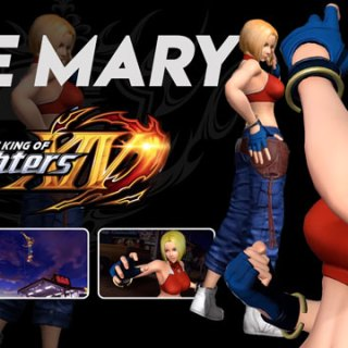 play-asia.com, The King of Fighters XIV, The King of Fighters XIV physical games, The King of Fighters XIV digutal, blue mary