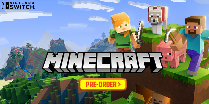Minecraft: Switch Edition is Approaching this June 21