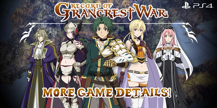 Record Of Grancrest War Additional Game Details Are Here