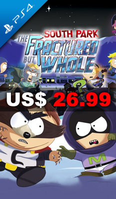 SOUTH PARK: THE FRACTURED BUT WHOLE Ubisoft