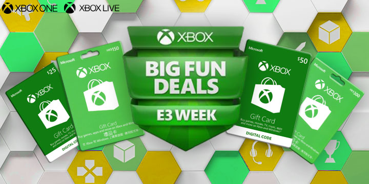 Catch the wave for le$$ with the special Xbox E3 Campaign!