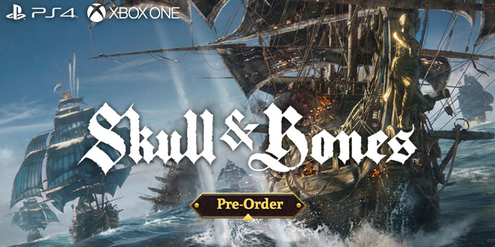 Skull and Bones, PlayStation 4, Xbox One, Europe, release date, price, game, E3, Ubisoft