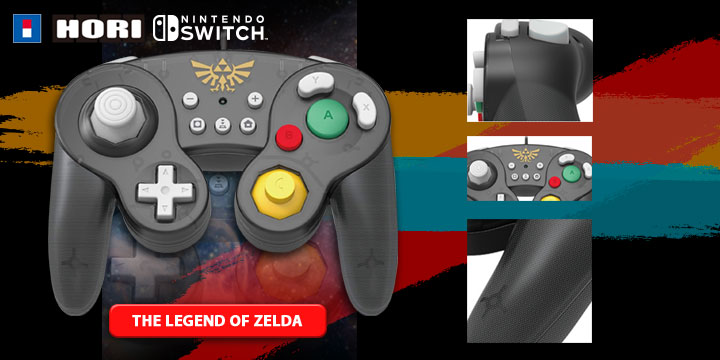 Hori's Classic GameCube-Style Controllers, Hori's Switch-enhanced GameCube controllers, Super Mario Classic Controller for Nintendo Switch, The Legend of Zelda Classic Controller for Nintendo Switch, Pikachu Classic Controller for Nintendo Switch, Nintendo Switch, Japan, release date, price, features, Hori