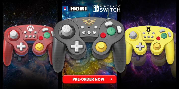 Hori's Classic GameCube-Style Controllers are Available Here at Play