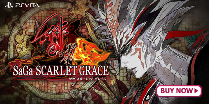 SaGa: Scarlet Grace, PS4, Switch, Japan, gameplay, features, release date, price, screenshots, trailer, Square Enix, サガ スカーレット グレイス 緋色の野望, Saga Scarlet Grace Ambition, SaGa: Scarlet Grace – Hiiro no Yabou
