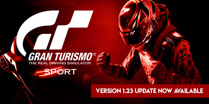 Gran Turismo Sport - The Version 1 23 Update is now Available!