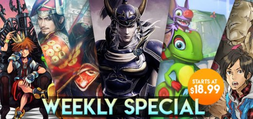 WEEKLY SPECIAL: Muramasa Rebirth, Gravity Rush 2, Yooka-Laylee, & More!