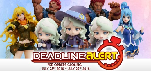 DEADLINE ALERT! All The Toy Pre-Orders Closing Jul 23rd – Jul 29th!