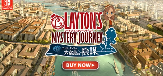 Layton's Mystery Journey: Katrielle to Daifugou no Inbou DX, Layton's Mystery Journey: Katrielle and the Millionaires' Conspiracy, Nintendo Switch, Japan, release date, gameplay, features, price, game