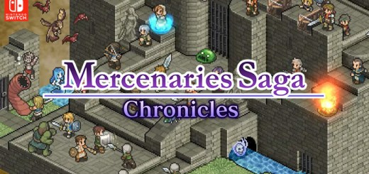 Mercenaries Saga Chronicles, Switch, Nintendo Switch, US, gameplay, features, release date, price, trailer, screenshots