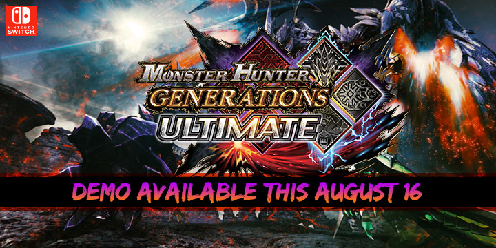 Monster Hunter Generations Ultimate, Monster Hunter Generations Ultimate Switch, Monster Hunter XX: Double Cross Nintendo Switch Ver., Monster Hunter XX Generations Ultimate, Monster Hunter, US, Europe, Australia, Switch, gameplay, features, release date, trailer, screenshots, demo, game update, update