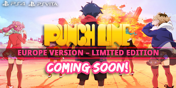 Punch Line, PlayStation 4, PlayStation Vita, US, North America, Europe, release date, price, gameplay, features, update