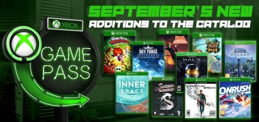 Xbox Game Pass, Halo: The Master Chief Collection, Quantum Break, Onrush, Aven Colony, Shadow Warrior 1, Sky Force Reloaded, Manual Samuel, Snake Pass, Giana Sisters: Twisted Dreams, InnerSpace, Xbox One, Xbox Game Pass for September, Microsoft